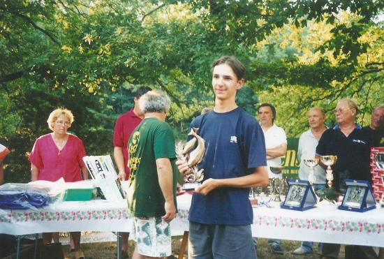 1998. Championnat de France Juniors à felletin