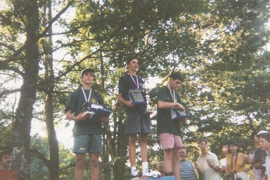 1998. Championnat de France Juniors à Felletin