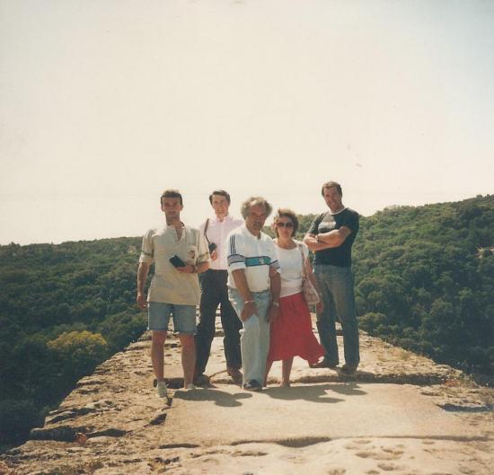 Escapade au sommet du Pont du gard